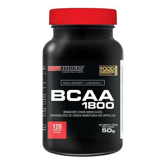 BCAA 1800 Bodybuilders 120 Cáps -