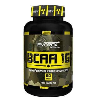 Bcaa 1g 60 Cápsulas - Evorox Nutrition