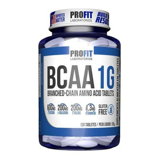 Bcaa 1g - 60 Tablets Aminoácido - Profit Laboratórios