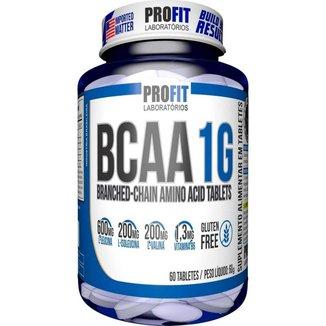 Bcaa 1g Aminoácido 60 Tabletes - Profit Laboratórios