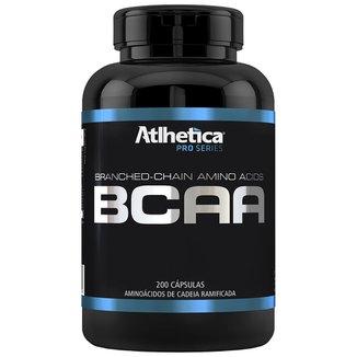 Bcaa - 200 Cápsulas - Pro Series - Atlhetica