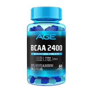 Bcaa 2400 (60 Cápsulas) - Age