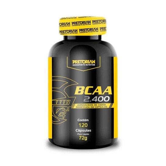 BCAA 2400 120 Cáps - Pretorian -