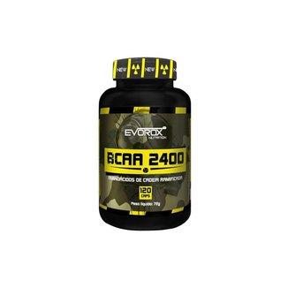 Bcaa 2400 120 Cápsulas - Evorox Nutrition