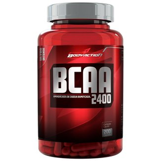 BCAA 2400 200 Cáps - Body Action