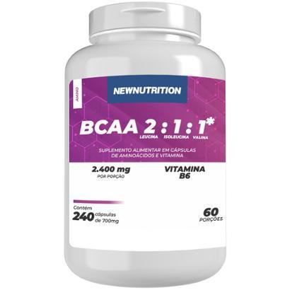 BCAA 2400 240 caps NewNutrition
