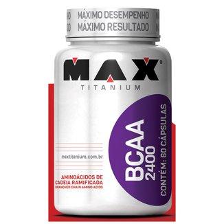 BCAA 2400 60 Cáps - Max Titanium