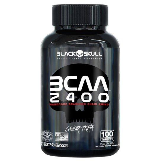BCAA 2400 Black Skull 100 Tabs -