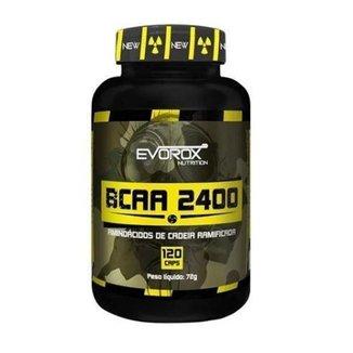 BCAA 2400 Evorox Nutrition 120 Cápsulas