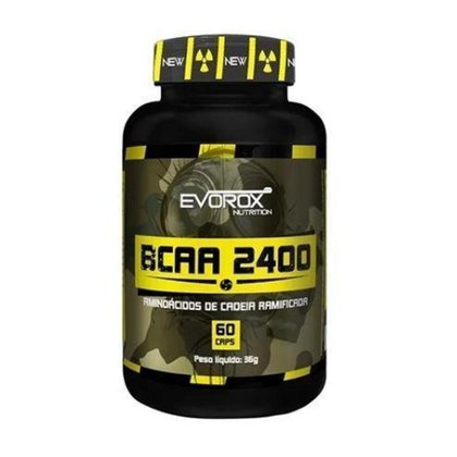 BCAA 2400 Evorox Nutrition 60 Cápsulas