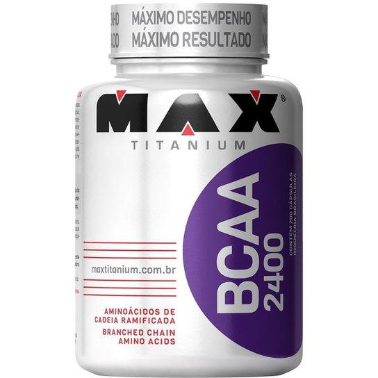 BCAA 2400 Max Titanium 200 Cáps -