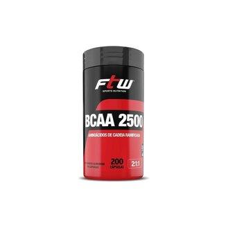 BCAA 2500 2:1:1 200 Cáps - FTW