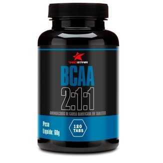 Bcaa 2:1:1 120 Tabs  Red Series