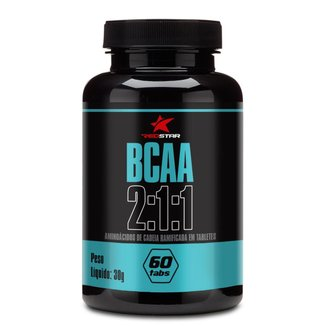 Bcaa 2:1:1 60 Tabs - Red Star