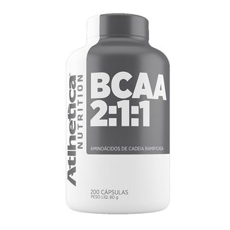 BCAA 2:1:1 Atlhetica Nutrition 200 Tabs
