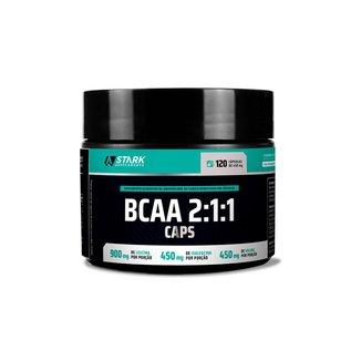 BCAA 2:1:1 Caps 120 Cápsulas Stark Supplements