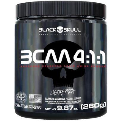 Bcaa 4.1.1 280g - Black Skull®