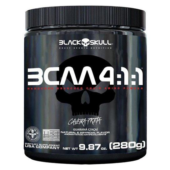 Bcaa 4.1.1 280g - Black Skull® -
