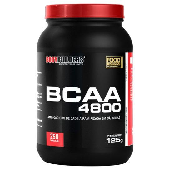 BCAA 4800 Bodybuilders 250 Cáps -