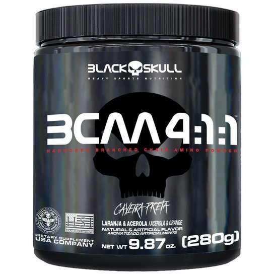 BCAA 4:1:1 280 g - Black Skull -