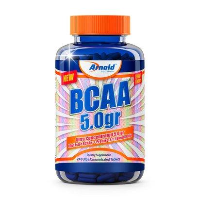 Bcaa 5.0G 240 Tabs - Arnold Nutrition Bcaa 5.0G 240 Tabs