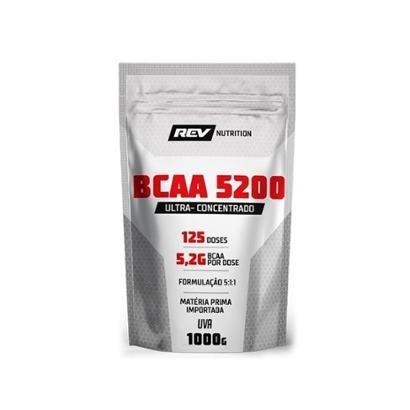 BCAA 5200 em pó - 1000g - Rev Nutrition