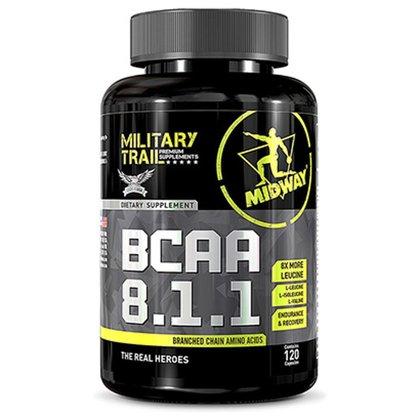 BCAA 8.1.1 120 Cápsulas Military Trail - Midway