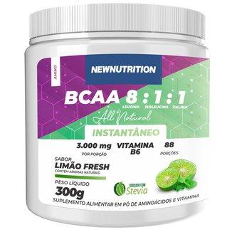 BCAA 8:1:1 All Natural Limão 300g NEWNUTRITION