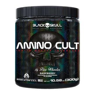 BCAA Amino Cult 300g By Flex Wheeler - Black Skull
