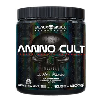 BCAA Amino Cult 300g By Flex Wheeler - Black Skull