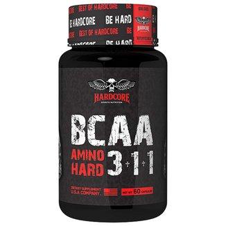 Bcaa Amino Hard 3:1:1 60 Cápsulas - Hardcore Sports Nutrition