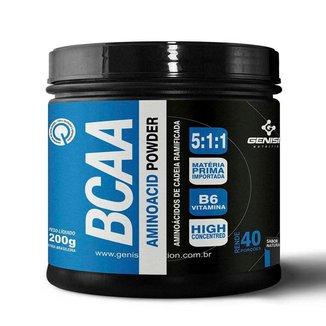 BCAA Aminoácido Powder 200G - GENISIS NUTRITION