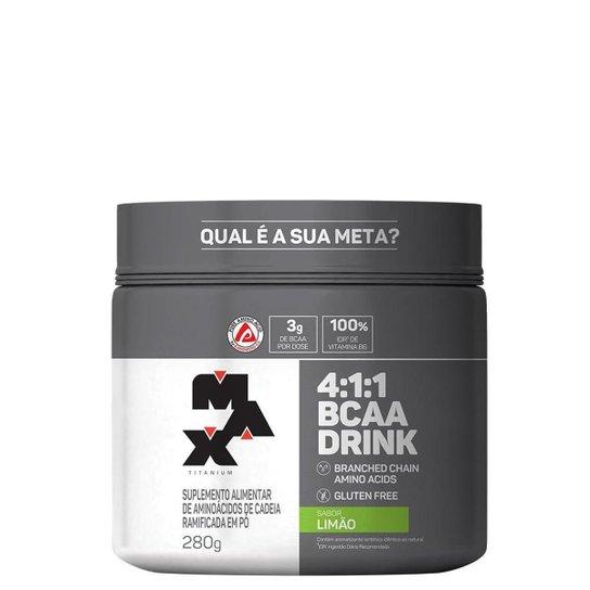 Bcaa Drink 4:1:1 280g - Max Titanium -