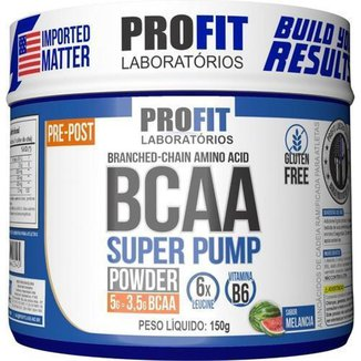 Bcaa Em Pó Super Pump Powder 150g - Profit Labs
