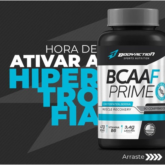 Bcaa-F Prime M Tor 90 Comprimidos Body Action -