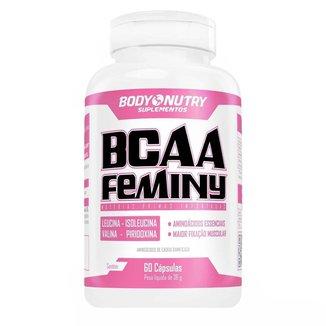 Bcaa Feminy - 60 Cápsulas - Body Nutry