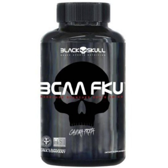 BCAA FKU Black Skull 120 Tabs -