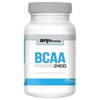 BCAA Foods 2400 100 Cáps - BR Nutrition Foods