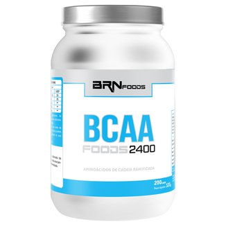 BCAA Foods 2400 200 Cáps - BR Nutrition Foods