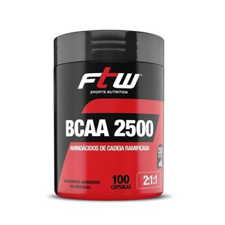 BCAA Ftw 2500 2:1:1 100 Cáps