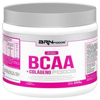 BCAA Pink + Colágeno BR Nutrition Foods - 250g
