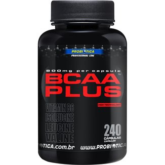 BCAA Plus 800 240 Cáps - Probiótica