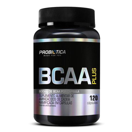BCAA Plus 800mg 120 Cáps - Probiótica -