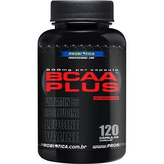 BCAA Plus 800mg 120 Cáps - Probiótica