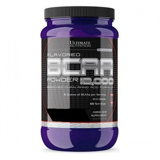 BCAA Powder 12.000 - Ultimate Nutrition 457g-Ruby Red Cand
