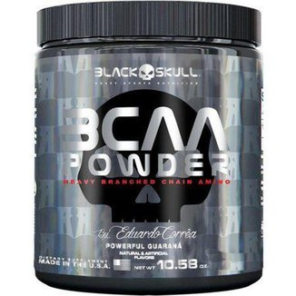 BCAA Powder 150 g By Eduardo Corrêa - Black Skull