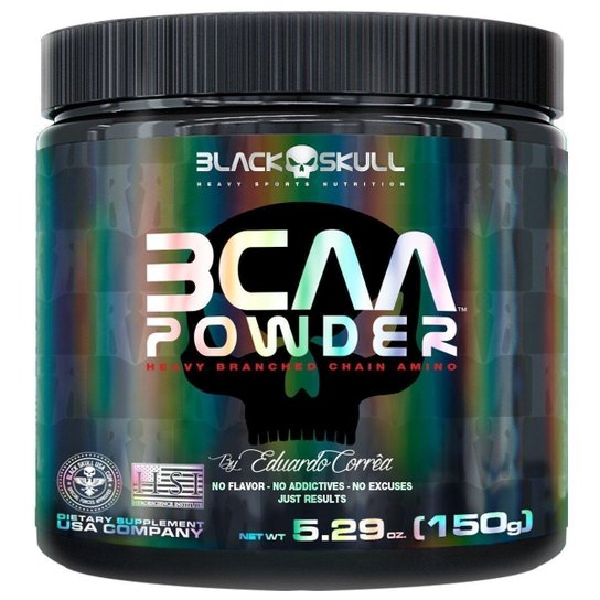 BCAA Powder 150 g By Eduardo Corrêa - Black Skull -