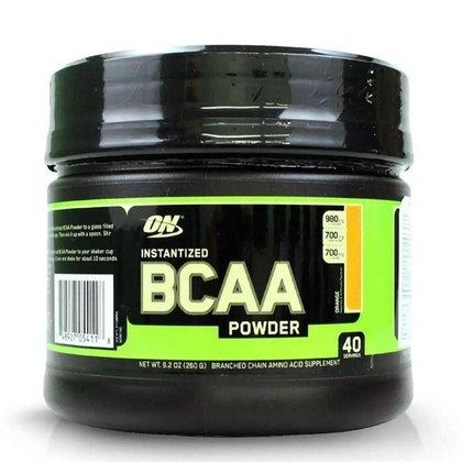 Bcaa Powder - 260g - Optimum Nutrition - Laranja