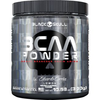 BCAA Powder 300 g By Eduardo Corrêa - Black Skull