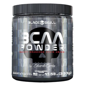 BCAA Powder 300 g By Eduardo Corrêa - Black Skull